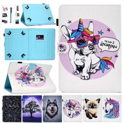 For 10 Inch Tablet PC Universal Shockproof Flip PU Leather K