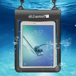 "10"" Waterproof Tablet Pouch Case For Apple iPad Pro 9.7 / iP"