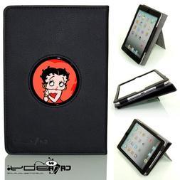 New 2014 SMART SLEEP Apple Ipad Air 2 black leather Case By