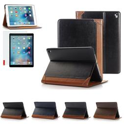 "For Apple iPad Pro 9.7"" 2016 Folio Magnetic Leather Flip Sma"