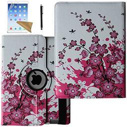 iPad 2 Case, iPad 3 Case, iPad 4 Case, Lingsor 360 Degree Ro