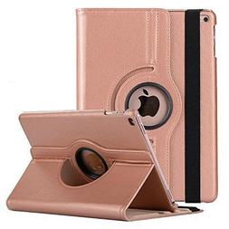 360 Degree Rotating Leather Smart Cover <font><b>Case</b></f