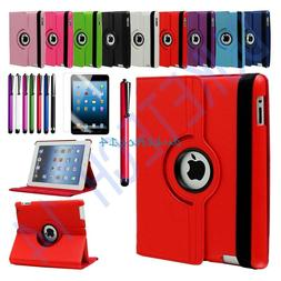 360 Degree  Rotating Leather  Swivel Stand Case Cover  For A