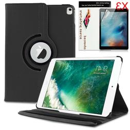 360 Rotating Case PU Leather Folio Stand Cover For Apple iPa