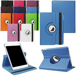 360 Rotating Leather Case Smart Cover For iPad 9.7 Inch 2017