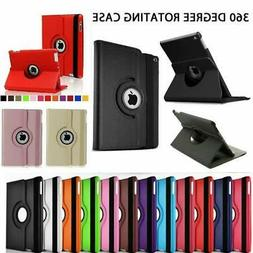 360 Rotating Leather Folio Shockproof Case Cover Stand For A