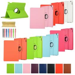 360 Rotating Leather Smart Case Cover Stand For iPad 6th /5t
