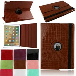 360 Rotating Leather Smart Cover Stand Case For iPad 2 3 4 5