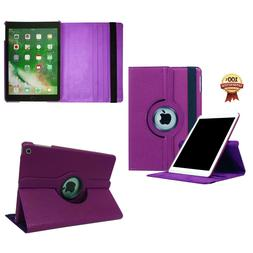 360 Rotating Leather Stand Case Cover For iPad Shockproof Ta