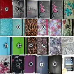 360 Rotating Magnetic Case Smart Cover Stand For iPad 234 Mi