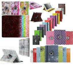 360 Rotating PU Leather Stand Case Cover For APPLE iPad 4 3