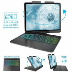360 Swivel ipad pro Case Bluetooth Keyboard Case For ipad pr