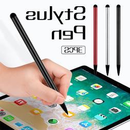 3pcs High Quality Capacitive Universal Stylus <font><b>Pen</