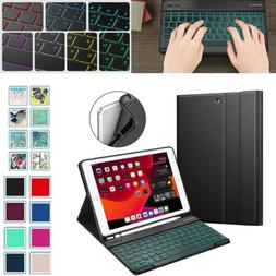 7 Color Backlight Keyboard Case for iPad 7th Gen 10.2'' 2019