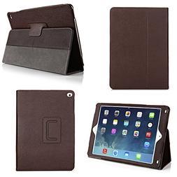 Bear Motion Case for iPad Air 2 - Genuine Leather Folio Case