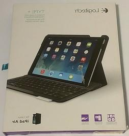 Logitech - Type+ Keyboard Case For Apple® Ipad® Air