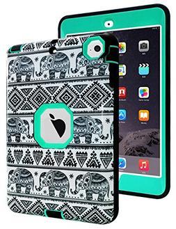 TOPSKY iPad Mini Case,Thailand Elephant Tribe Pattern Shock-