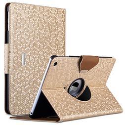 ULAK iPad Air Case, 360 Degrees Rotating Stand Protective Ca