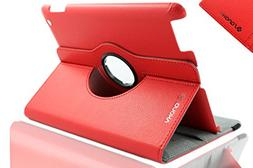Apple iPad 2/3/4 Case - ELEGANI 360 Degree Rotating Stand Sm