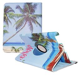 Aloha Apple iPad 2/3/4 Case - 360 Degree Rotating Stand Smar