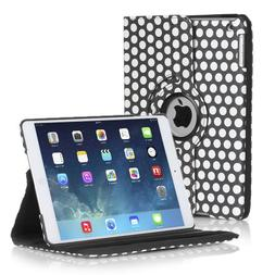 TNP Apple iPad 2/3/4 Case - 360 Degree Rotating Stand Cover