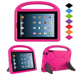 Kids Case for iPad 2 3 4 - TIRIN Shock Proof Convertible Han
