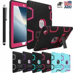 For Apple iPad 4th, 3rd, 2nd Gen Case Hybrid Shockproof Heav