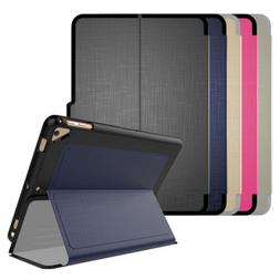"For Apple iPad 4th Generation 9.7"" Case Folio Leather Shockp"