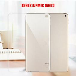 "For Apple iPad 5 6 7 8 2018 2017 9.7"" Clear Soft Case Bumper"