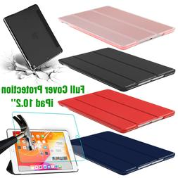 For Apple iPad 7th Generation 10.2'' 2019 Smart Stand Case W