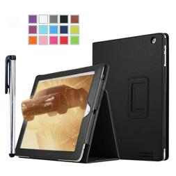 For Apple iPad 9.7  Leather Tablet Stand Flip Cover Case