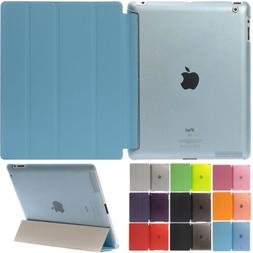 "For Apple iPad 9.7"" 2017 2018 Smart Case Cover Stand Magneti"