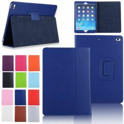 For Apple iPad 9.7 2017 5th Gen Magnetic Smart Flip Leather