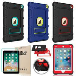 For Apple iPad 9.7'' 2018 6th Gen Case Shockproof Stand Heav