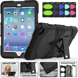 For Apple iPad 9.7 Inch 2017 5th Gen Shockproof Rubber Hard