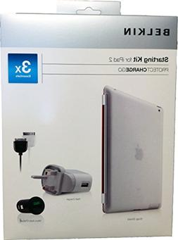 Belkin Apple Ipad 2G Accessory Pack Kit Bundle With Snap Shi