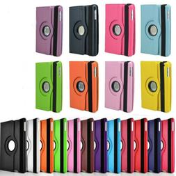For Apple iPad Air 1 / 2 --360 Rotating Magnetic  Leather Sm