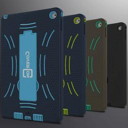 For Apple iPad Air 2 Case Protective Kickstand Hybrid Hard &