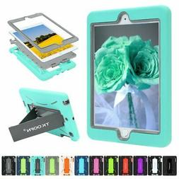 For Apple iPad 4/Air/mini/2 3 Armor Shockproof Heavy Duty Ru