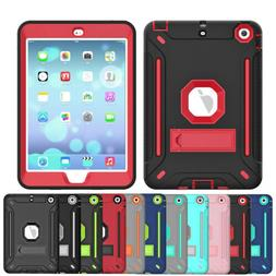 For Apple iPad Mini 1 2 3 4 5 Stand Shockproof Rubber Heavy
