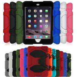 For Apple iPad Mini 1 2 3 Shockproof Heavy Duty Stand Cover