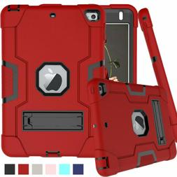 For Apple iPad Mini 4 5 Case Military Heavy Duty Rubber with