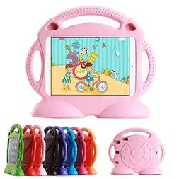 Lioeo Apple iPad Mini Case for Kids with Handle Durable Ligh