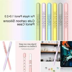 For Apple iPad Pencil 1st 2nd Generation Silicone Case Grip