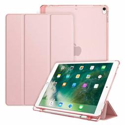 For Apple iPad Pro 10.5 2017 Tablet Case Cover Stand w/ Tran