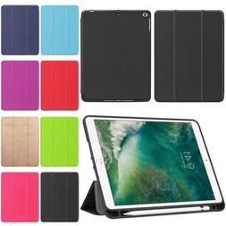 "For Apple iPad Pro 10.5"" Folding Leather Magnetic Smart Case"