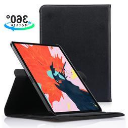 For Apple iPad Pro 11 / 12.9 3rd Gen 2018 360 Rotating Leath
