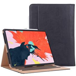 Apple iPad Pro 12.9 2018 3rd Gen Case Vintage Stand Pencil H