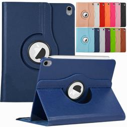 For Apple iPad Pro 12.9 3rd Gen 2018 360 Rotating Leather Sm