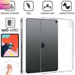 IPad Pro 9.7,10.5,11, iPad mini, 4/5/6  Crystal Clear  Silic